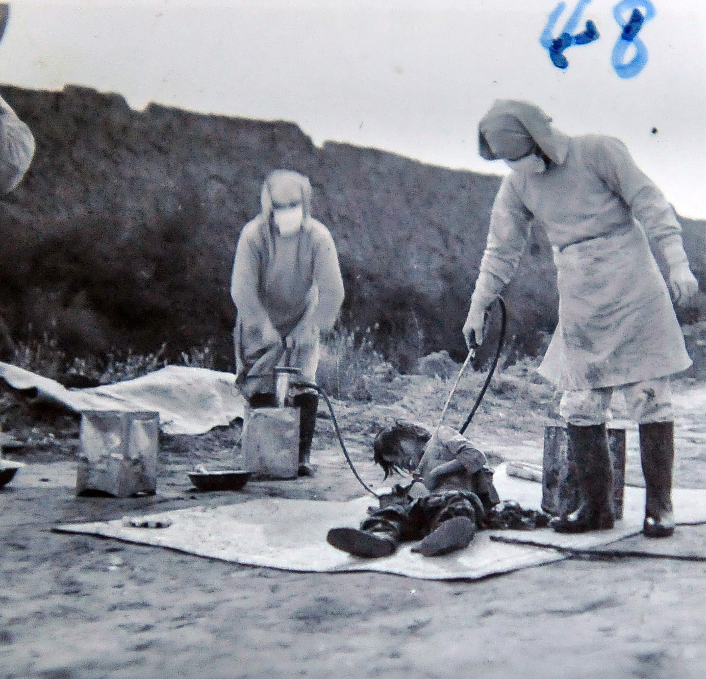 Pictures of Unit 731  War Pardons