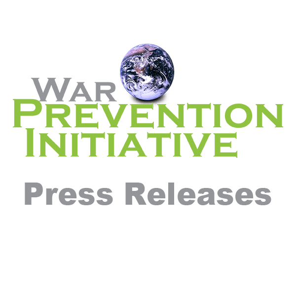 Press Release: The War Prevention Initiative commends the award of the Nobel Peace Prize to Ethiopian Prime Minister Abiy Ahmed Ali.