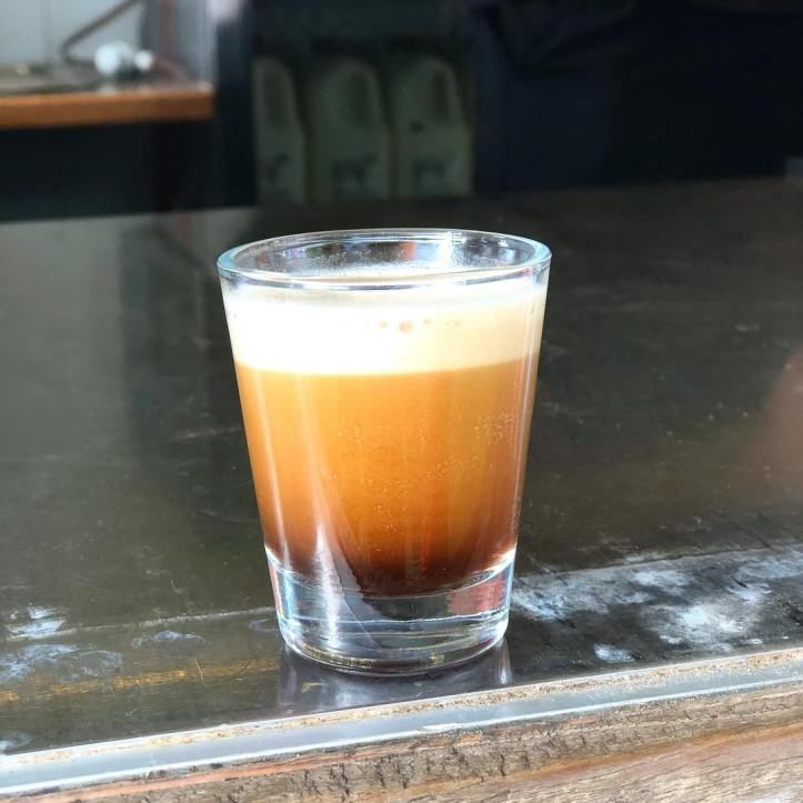 Nitro coffee. Have you tried one? Visit Craig's Hut for a shot