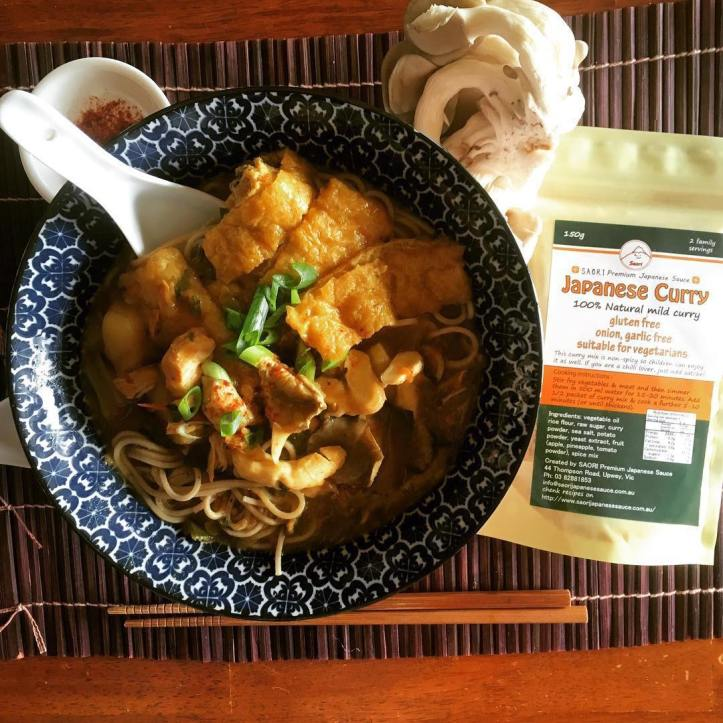 Pop into @saori_japanese_sauce and try the different sauces on offer. This Japanese curry looks delicious @saori_japanese_sauce ・・・ We had a very busy weekend and I had no energy left to cook up a big dinner. Luckily, I had Japanese curry leftover from last night so I made soba noodles in curry soup. It was ready in 10 AND delicious 😋 I just mixed the leftover Japanese curry with same amount of water and a dash of SAORI Seaweed & Soya Japanese Sauce then topped with @kingoyster. It was much better than anything we used to have in restaurants!!! We eat better Japanese meals here in my house in Melbourne than in Japan. Yummo #メルボルンライフ #カレー蕎麦 #おうちごはん #無添加生活 #さおりソース #メルボルン #ばんごはん #海外生活