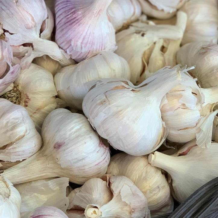 Did you know it's the perfect time to plant garlic?  @weyhillfarmgarlic has all the tips and tricks, and the most delicious display of garlic just waiting to be adding to a beautiful passata. At the market today