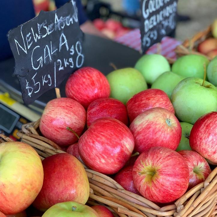These apples were literally picked yesterday by Lauren Fankhauser herself. Do yourself a favour and grab a bag of new season @fankhauserapples before they disappear