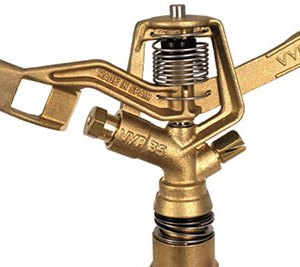VYRSA VYR-35 BRASS FULL CIRCLE IMPACT SPRINKLER 20MM