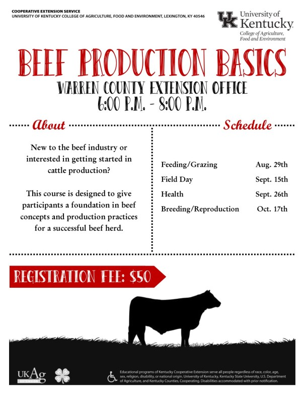 Beef Production Basics
