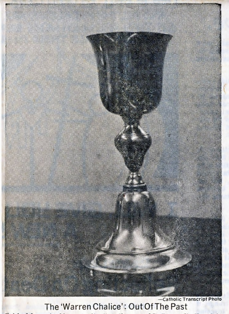 The Warren Chalice Out of the Past