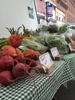 Beets, Greens, and Asparagus week 1