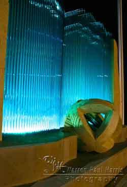 Frisco PD Glass Sculpture