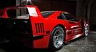 Ferrari F 40 at Night