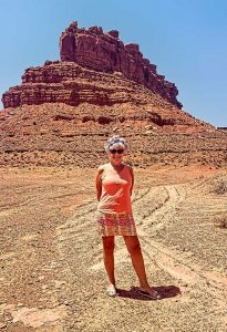 A Goddess in Valley of the Gods