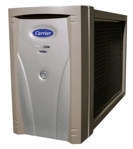 Carrier air purifier from Warren Heating and Cooling