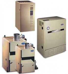 Oil to gas conversion equipment from Warren Heating and Cooling.
