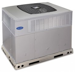 Carrier commercial heating unit from Warren Heating and Cooling