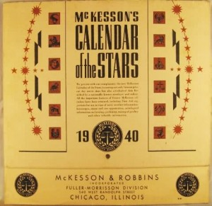 Front cover of Calendar of the Stars