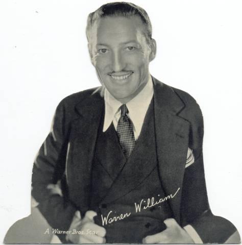 Warren William Quaker Standee