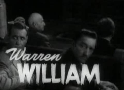 Warren William as Dr Lloyd - Ralph Bellamy at left