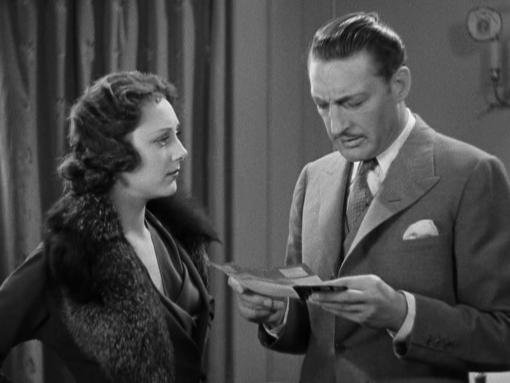 Ann Dvorak and Warren William in Three on a Match