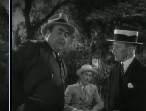 Eugene Pallette and Etienne Girardot