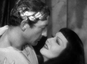 Warren William and Claudette Colbert