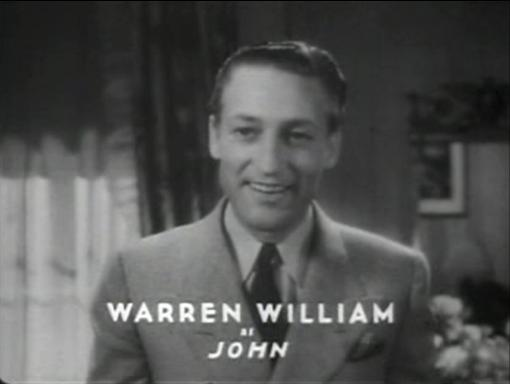 Warren William in Dr Monica