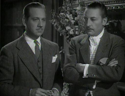 Melvyn Douglas and Warren William
