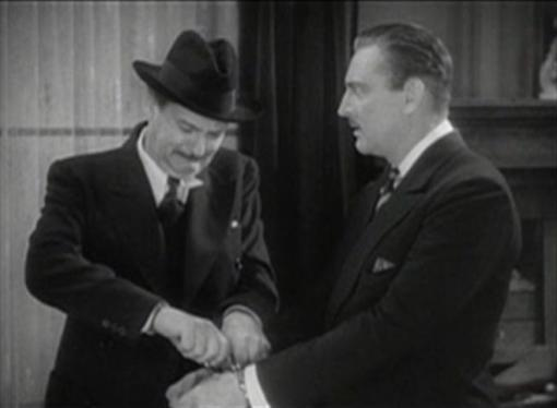Lionel and John Barrymore in Arsene Lupin