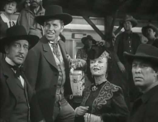 Warren William, Bruce Cabot, Constance Bennett, Ward Bond