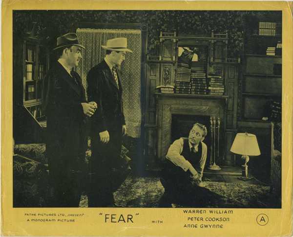 Fear 1946 Lobby Photo