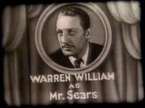 Warren William in Just Around the Corner
