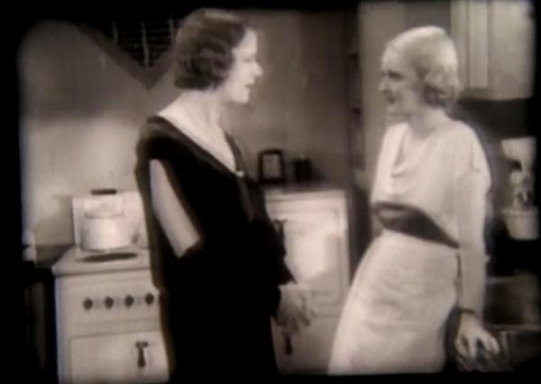 Ruth Donnelly and Bette Davis