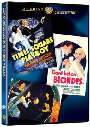 Part of The Warren William Collection available at Warner Archive