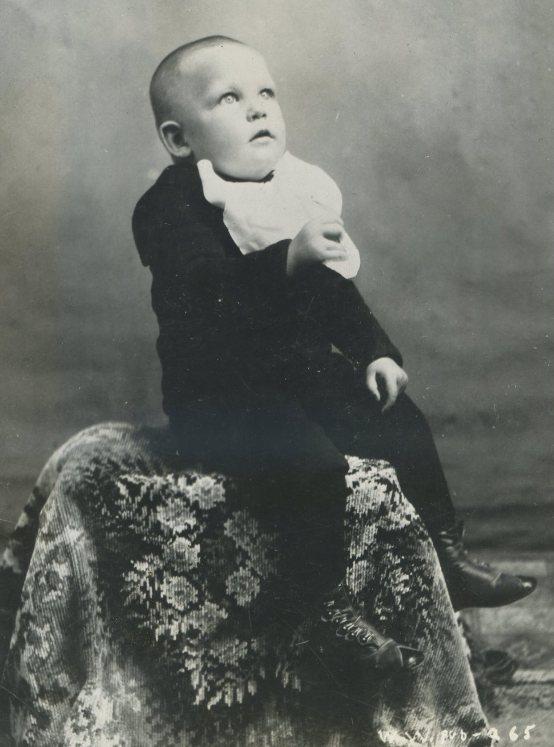 Warren William Krech as baby