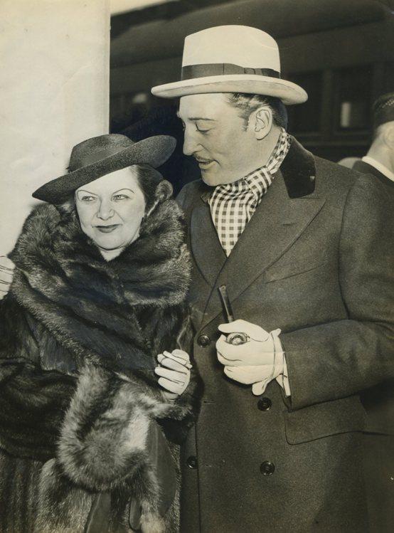 Warren William and wife Helen
