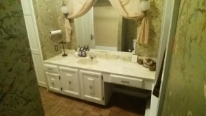 Bathroom Vanity Before Renovation