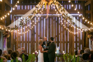 All ceremony and reception formal arrangement were done by Doug Smith Designs and Events.