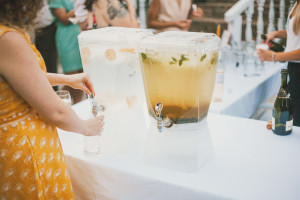 Eco-Friendly Wedding- Drink Dispensers