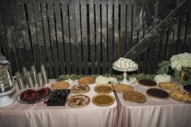 Dessert table display