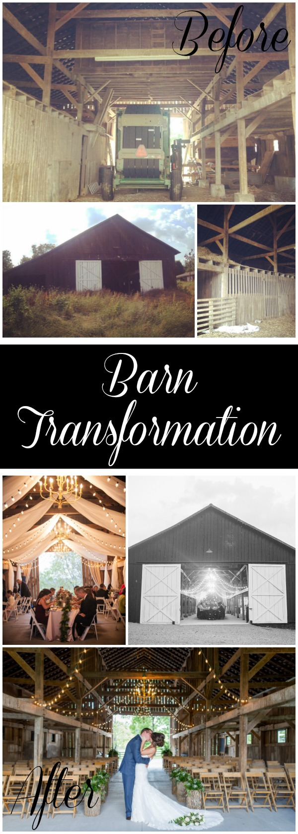 Rustic Barn Transformation