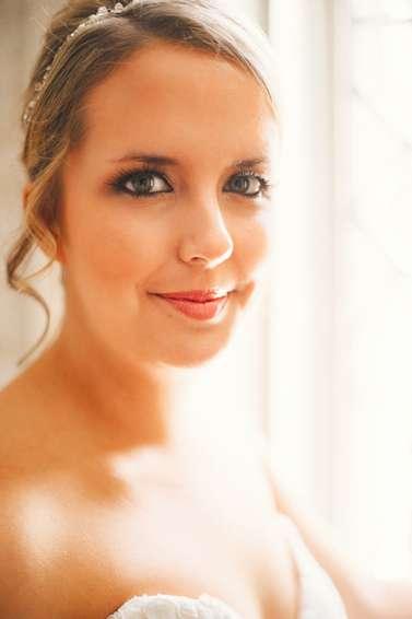 Soft bridal makeup by Something Blu