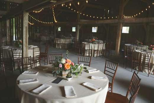 Rustic Boho Barn Wedding Reception