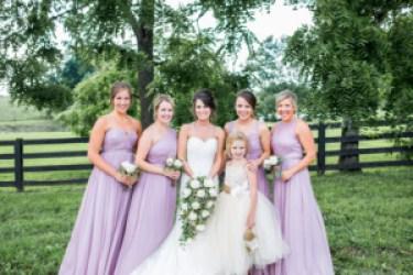 Lilac Purple Bridesmaid Dresses, Photo by Becky Willard