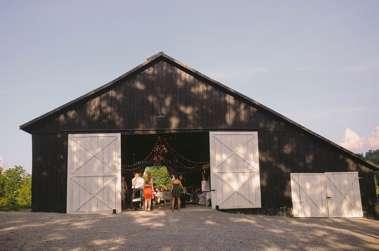 Reception barn in Danville, KY at Warrenwood Manor