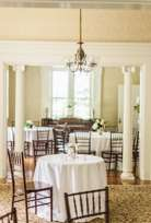 Formal wedding reception in Warrenwood Manor