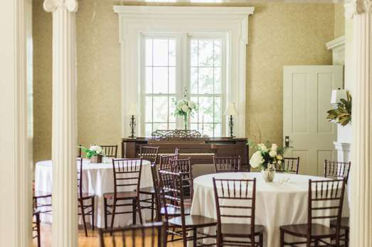 Classic wedding reception in old house in Danville, KY