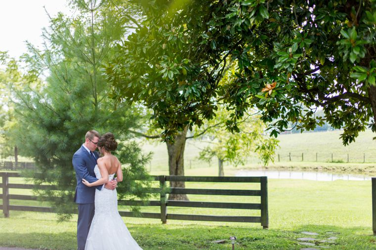 Classic traditional southern bride & groom