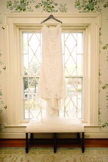 Wedding Dress in Historic Kentucky Mansion