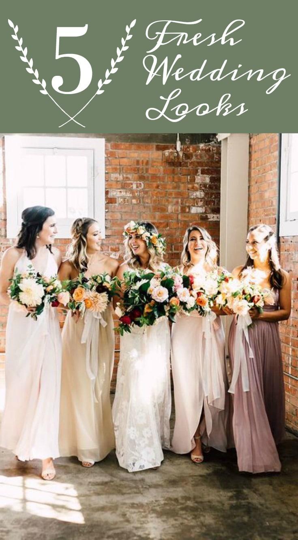 Fresh Wedding Styles - Industrial Chic