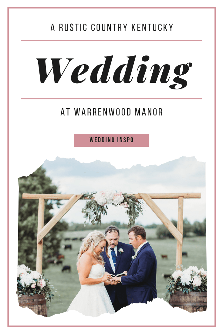 Rustic Country Warrenwood Wedding