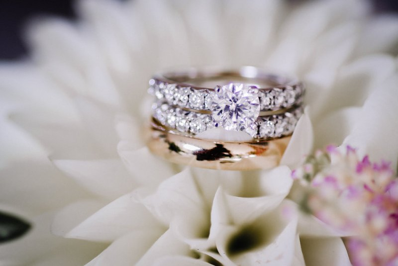 Traditional wedding ring at Country Glam Wedding