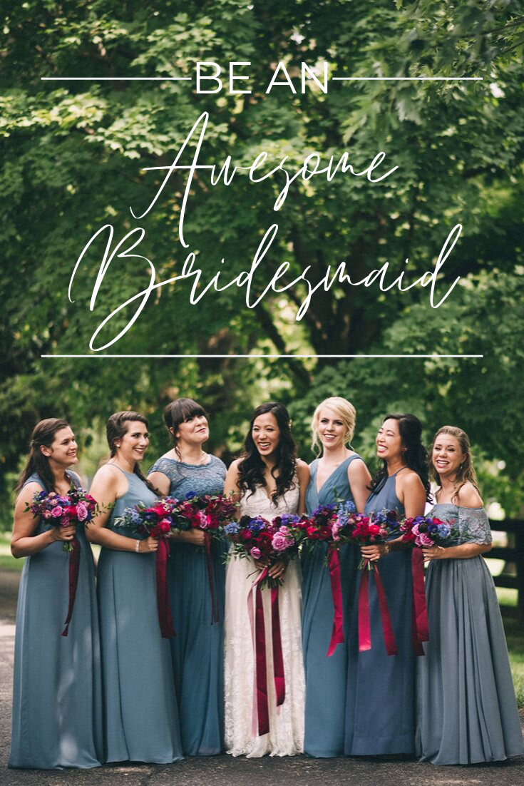 Be an Awesome Bridesmaid