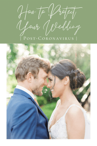 How to Protect Your Wedding Post-Coronavirus